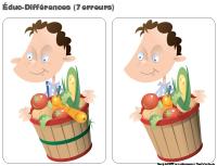 Éduc-différences-Les légumes