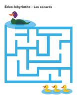 Éduc-labyrinthe-Les canards