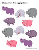 Éduc-paires-Les hippopotames