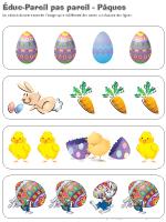 Éduc-pareils pas pareil - Pâques