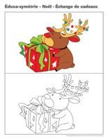 Éduc-symétrie-Noël-échange de cadeaux
