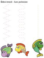 Éduc-tracé - les poissons