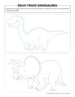 Éduc-tracé-Dinosaures