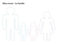 Éduc-tracé-La famille