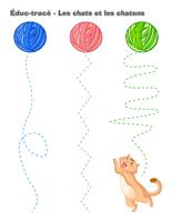 Éduc-tracé-Les chats et les chatons