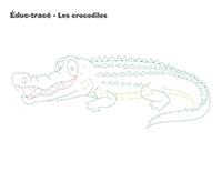 Éduc-tracé-Les crocodiles