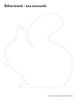 Éduc-tracé-Les écureuils
