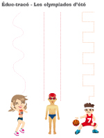 Éduc-tracé-Les olympiades d'été