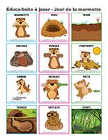 Éduca-boite à jaser-Jour de la marmotte