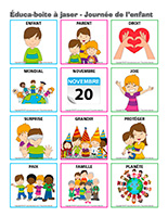 Éduca-boite à jaser-Journée de l'enfant