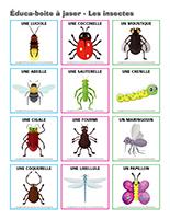 Éduca-boite à jaser-Les insectes