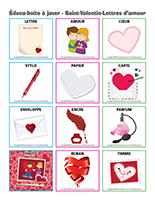Éduca-boite à jaser-Saint-Valentin-Lettres d'amour