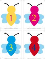 Éduca-chiffres - Les abeilles