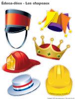 Éduca-déco - Les chapeaux