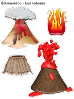 Éduca-déco - Les volcans