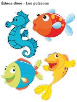 Les poissons activit s pour enfants educatout for Faux poisson rouge