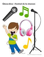 Éduca-déco-Festival de la chanson