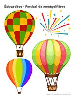 Éduca-déco-Festival de montgolfières