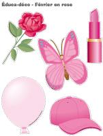 Éduca-déco-Février en rose