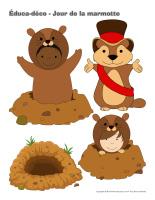Éduca-déco-Jour de la marmotte-1