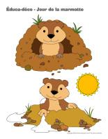 Éduca-déco-Jour de la marmotte-2