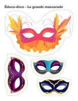 Éduca-déco-La grande mascarade