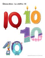Éduca-déco-Le chiffre 10