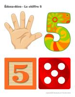 Éduca-déco-Le chiffre 5