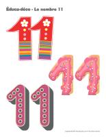 Éduca-déco-Le nombre 11
