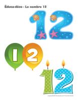 Éduca-déco-Le nombre 12