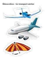 Éduca-déco-Le transport aérien