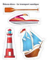 Éduca-déco-Le transport nautique