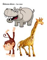 Éduca-déco-Le zoo
