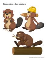 Éduca-déco-Les castors