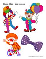 Éduca-déco-Les clowns