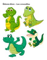 Éduca-déco-Les crocodiles