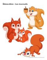 Éduca-déco-Les écureuils