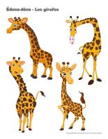 Éduca-déco-Les girafes