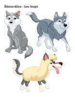 Éduca-déco-Les loups