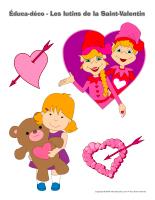 Éduca-déco-Les lutins de la Saint-Valentin