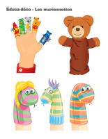 Éduca-déco-Les marionnettes