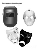 Éduca-déco-Les masques