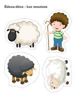 Éduca-déco-Les moutons