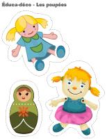 Éduca-déco-Les poupées