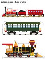 Éduca-déco-Les trains