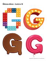Éduca-déco-Lettre G-1