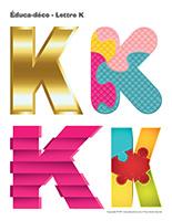 Éduca-déco-Lettre K