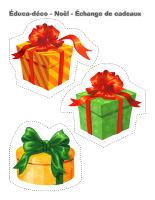 Éduca-déco-Noël-échange de cadeaux