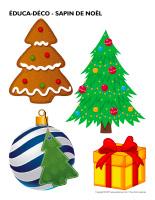 Éduca-déco-Sapin de Noël