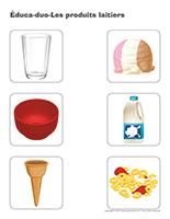 Éduca-duo-Les produits laitiers